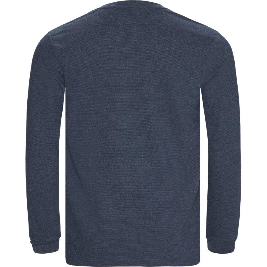 PERTH - Perth LS Tee - T-shirts - Regular - DENIM MELANGE - 2